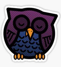 Sleeping Owl Sticker