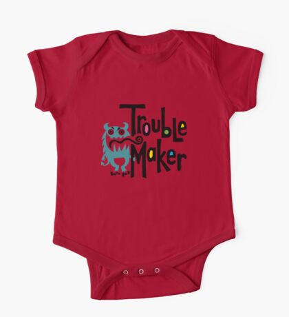 Trouble Maker - born bad Kids Clothes