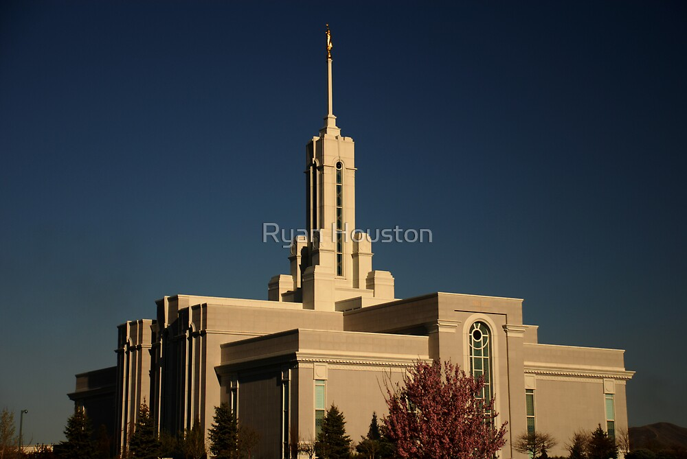 Mt. Timpanogos Temple, American Fork, Utah by Ryan Houston