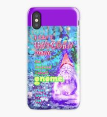 I Can't Unicorn Today iPhone Case/Skin