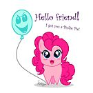 I got you a Pinkie Pie! by SapphireIce88