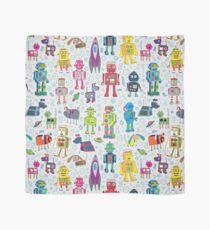 Pañuelo Robots en el espacio - gris - diversión Robot pattern by Cecca Designs