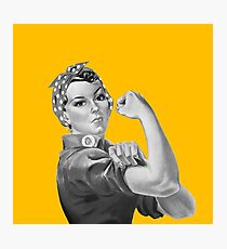 Rosie the riveter | Feminism Photographic Print