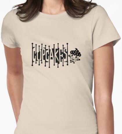 Retro Cupcakes - black T-Shirt