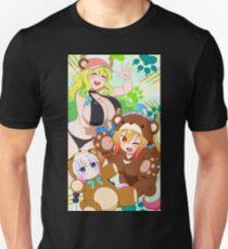 Dragon maid Bears Unisex T-Shirt