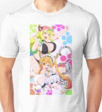 Dragon maid kittys Unisex T-Shirt