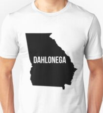 Dahlonega, Georgia State Silhouette Unisex T-Shirt