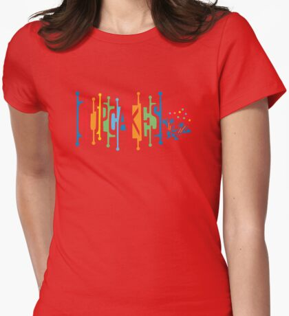 Retro Cupcakes - on lights T-Shirt