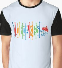 Retro Cupcakes - on lights Graphic T-Shirt
