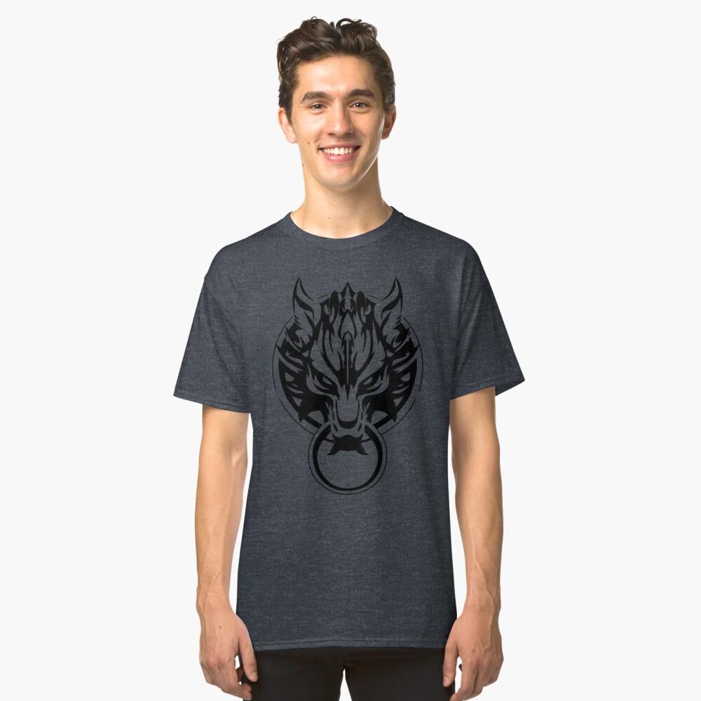 Final Fantasy Fenrir Wolf Classic T-Shirt Front