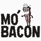 MO' BACON on lights by Andi Bird