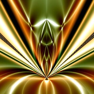 Liquid Gold abstract reaction by willie50