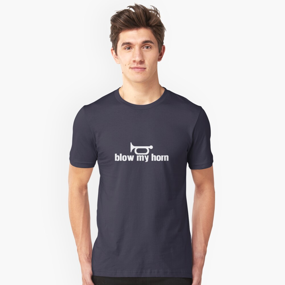 Blow My Horn Slim Fit T-Shirt