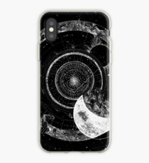 Fragmented Astrology Lapse Black iPhone Case
