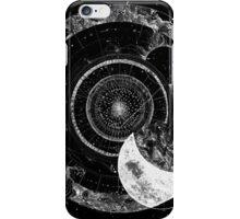 Fragmented Astrology Lapse Black iPhone Case/Skin