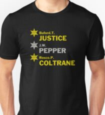 Sheriff T, Justice, Pepper and Coltrane Unisex T-Shirt