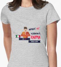 Francesco Gabanni  - Occidentali's Karma [Italy 2017] Womens Fitted T-Shirt