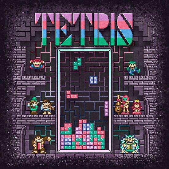 Tetrominoes by likelikes