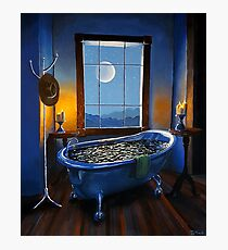 """Blue Bath and Beyond"" Photographic Print"