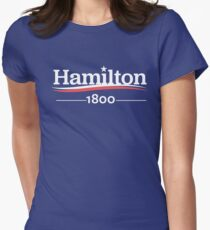 ALEXANDER HAMILTON 1800 Burr Election of 1800 Womens Fitted T-Shirt