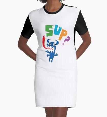 Sup? light colors Graphic T-Shirt Dress