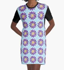 Happy Go Lucky Graphic T-Shirt Dress