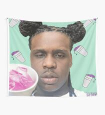 Chief Keef Lean Cups Sosa Purple Sizzurp Syrup Wall Tapestry