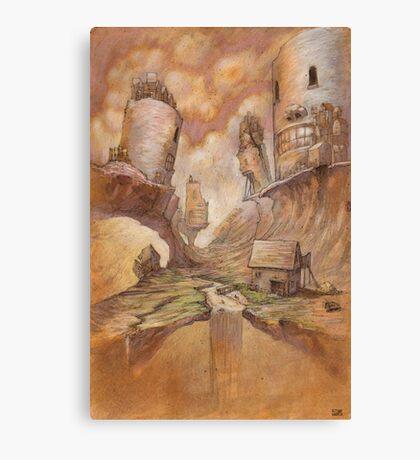 The Broken Fork Canvas Print