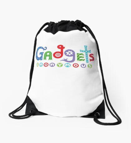 I need gadgets anonymous - darks Drawstring Bag