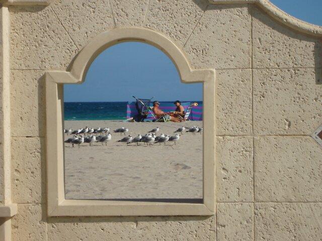 Beach-Chair Window by Dario  da Silva