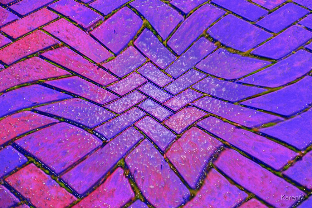 Wavy Bricks by KarenM