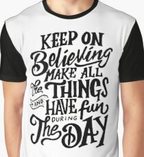 Adrian Bliss - Make All The Things Graphic T-Shirt