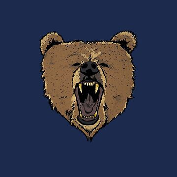 Angry Bear by ASCreative
