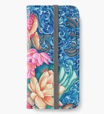 Orchid Splash iPhone Wallet/Case/Skin