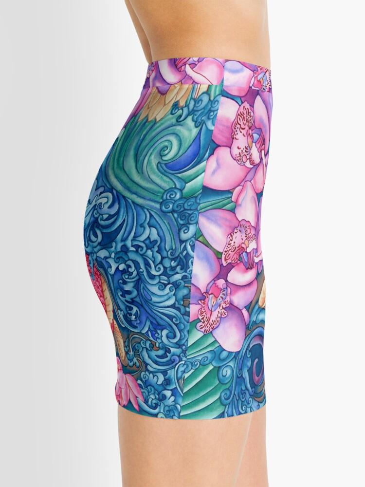 Alternate view of Orchid Splash Mini Skirt