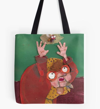 there was an old lady Tote Bag