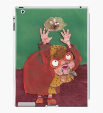 there was an old lady iPad Case/Skin
