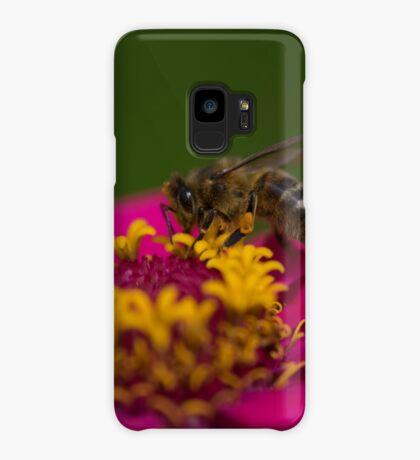 Zinnia Bee Case/Skin for Samsung Galaxy
