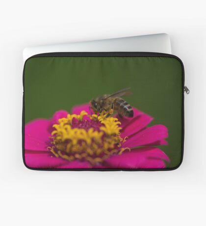 Zinnia Bee Laptop Sleeve