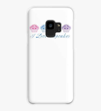 I love cupcakes  Case/Skin for Samsung Galaxy
