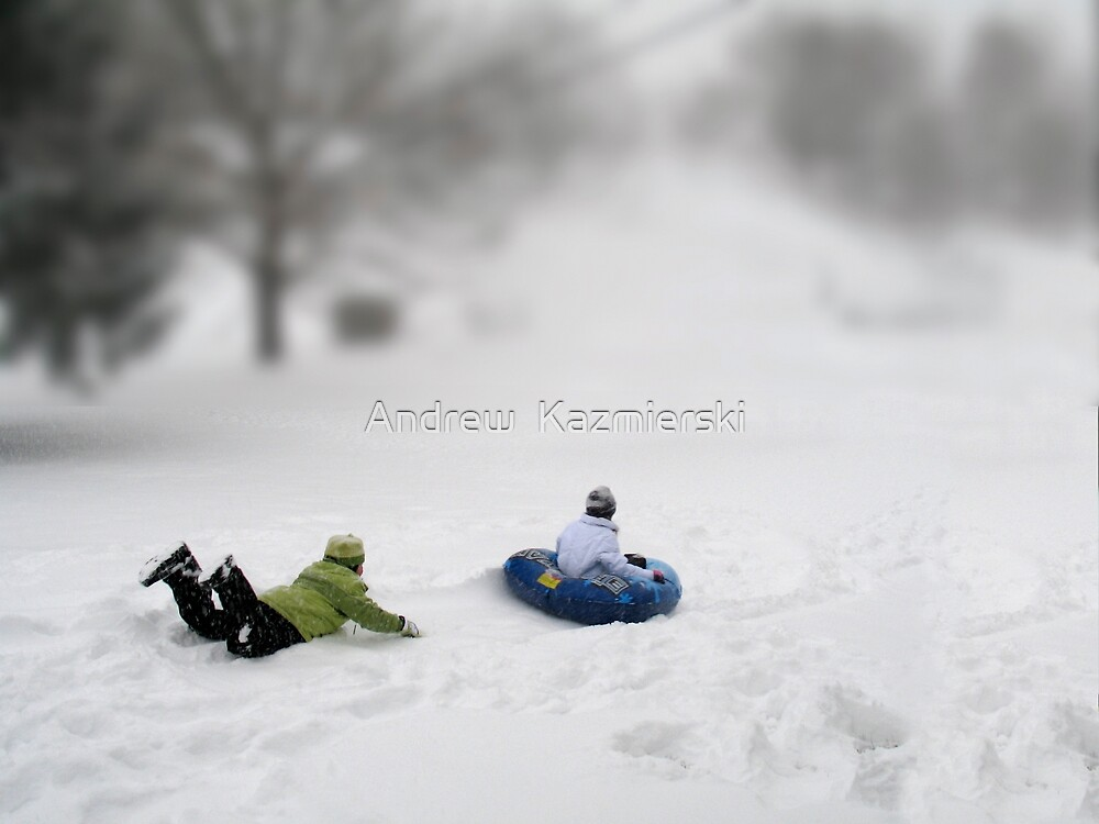 Hey, Wait for Me! by andykazie