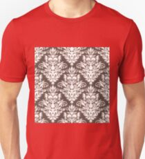 Damask Seamless Pattern Unisex T-Shirt