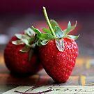 Erdbeeren - Stillleben von Evita