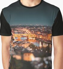 ponte vecchio on the night Graphic T-Shirt