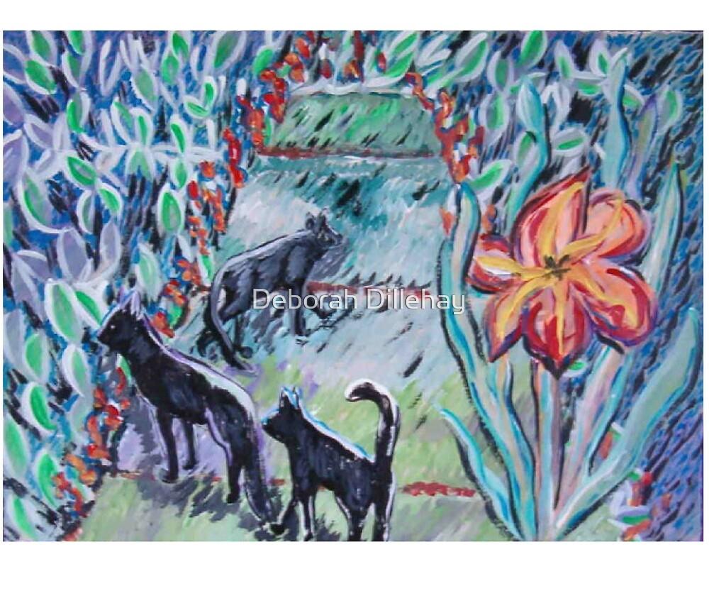 Cat Walk by Deborah McCormick