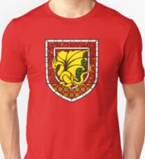 Stained Glass Pendragon Crest Unisex T-Shirt