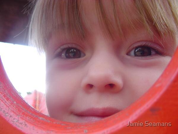 peek-a-boo by Jamie Seamans