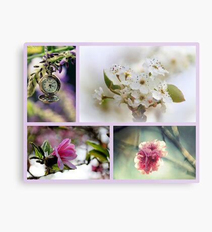 Impressionen des Frühlings Metalldruck