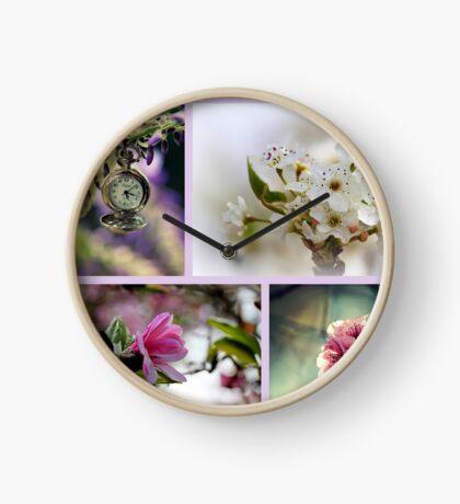 Impressionen des Frühlings Uhr