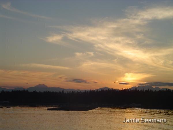 sunset by Jamie Seamans